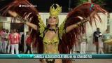 Daniela Albuquerque brilha no desfile da Grande Rio