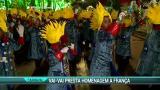 Vai-Vai homenageia a Fran�a em desfile no Anhembi