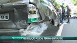 Persegui��o policial termina em tiroteio no Rio de Janeiro
