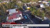 Furacão Maria deixa cenário devastador em Porto Rico