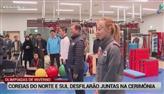 Coreias do Norte e Sul desfilarão juntos em evento esportivo