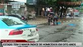 Rio tem o maior índice de homicídios em oito anos