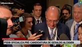 PSDB oficializa Alckmin com pré-candidato à Presidência