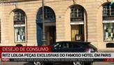 Ritz leiloa peças exclusivas do famoso hotel em Paris