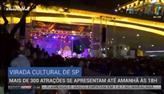Mais de 300 atrações se apresentam na Virada Cultural de SP