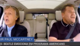 Paul McCartney emociona em programa americano
