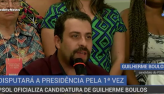 PSOL lança Guilherme Boulos como candidato à Presidência