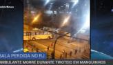 Ambulante morre durante tiroteio em Manguinhos, no RJ