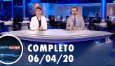 Assista à íntegra do RedeTV News de 06 de abril de 2020