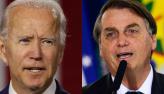 Bolsonaro cumprimenta Joe Biden e fala de parceria para meio-ambiente