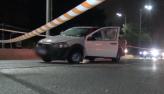 Motorista foge de assalto e é baleado na Marginal Pinheiros, em SP