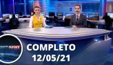Assista à íntegra do RedeTV News de 12 de maio de 2021