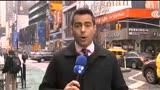 Pr�dio desaba em Nova York ap�s explos�o