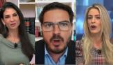 Amanda Klein, Constantino e advogada discordam de dados de mortes por Covid