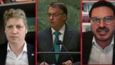 Constantino e Marcel van Hattem debatem sobre discurso de Bolsonaro na ONU