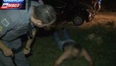 PM rastreia celular roubado da vítima e prende jovens assaltantes