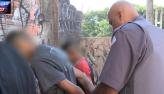Polícia faz cerco para prender traficantes na linha do trem