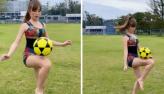 Duda Reis faz embaixadinhas em vídeo e impressiona fãs