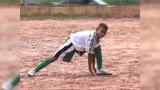V�deo mostra Gabriel Jesus driblando e marcando gol na inf�ncia