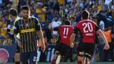 Maxi Rodr�guez cala torcida do Rosario Central com gol aos 48 do 2� tempo