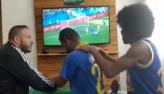 Surdomudo sente na pele emoção de jogo do Brasil na Copa do Mundo