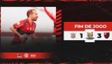 Flamengo vence Corinthians com facilidade e emplaca 6ª vitória seguida
