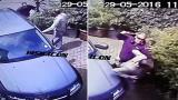 Milion�rio � flagrado agredindo aposentado em Londres