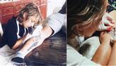 Menino de 12 anos se torna aprendiz e chama atenção por tatuagens no Panamá