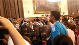 Vídeo mostra violência em protesto de professores na Câmara de SP