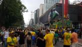 Veja imagens do protesto pró-Bolsonaro na Avenida Paulista