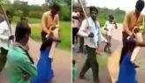 Mulher é forçada a carregar o marido sobre ombro como punição por traição