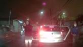 SP: Câmera de carro flagra trio atirando contra empresário durante assalto