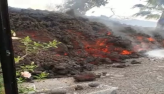 Erupção de vulcão nas Ilhas Canárias destrói casas