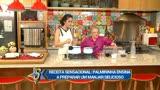 Palmirinha ensina Dani Albuquerque a preparar um delicioso manjar