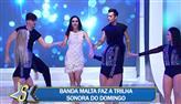 Daniela Albuquerque abre o Sensacional com grande sucesso da banda Malta
