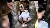 Mari Alexandre revela que Fábio Jr. é um pai ausente: