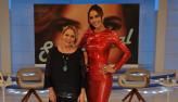Daniela Albuquerque recebe Claudete Troiano no Sensacional desta quinta(01)