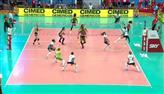 Assista aos primeiros sets de Praia Clube 3 X 0 Sesc-RJ