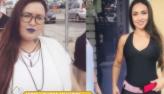Modelo perdeu 50 quilos sem cirurgia plástica: