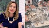 Sonia Abrão lamenta desabamento de prédio em Fortaleza: