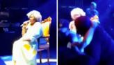 Alcione lamenta após fã tentar invadir palco durante show: