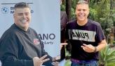 Filho de Vanusa diz que perdeu 69 kg após bariátrica: