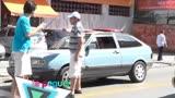 Flanelinha folgado se revolta com gorjetas de motoristas