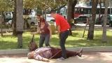 Gord�o quase morto 'ressuscita' e d� susto no povo