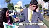 Repórter cara de pau chama mulherada de feia na gravação