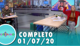Tricotando (01/07/2020)   Completo