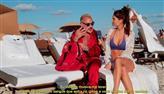 Júlia Pereira encontra empresário italiano Gianluca Vacchi em Miami
