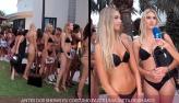 Júlia Pereira descobre dieta de modelos antes de desfile de biquíni