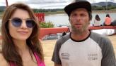 Júlia Pereira acompanha o Campeonato Paulista de Wakeboard