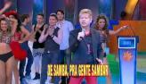 Roberto Leal canta 'N�o deixe o samba morrer'